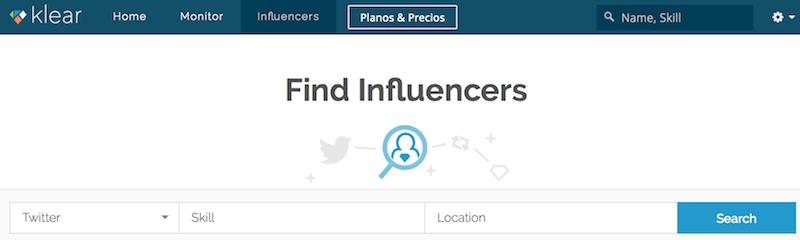 Klear Herramienta para Encontrar Influencers en Redes Sociales