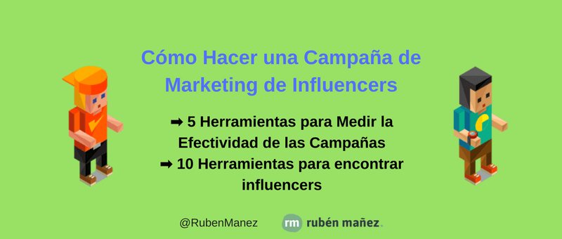 campana marketing de influencers