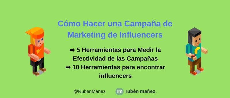 Guía: Cómo Hacer una Campaña de Marketing de Influencers Efectiva