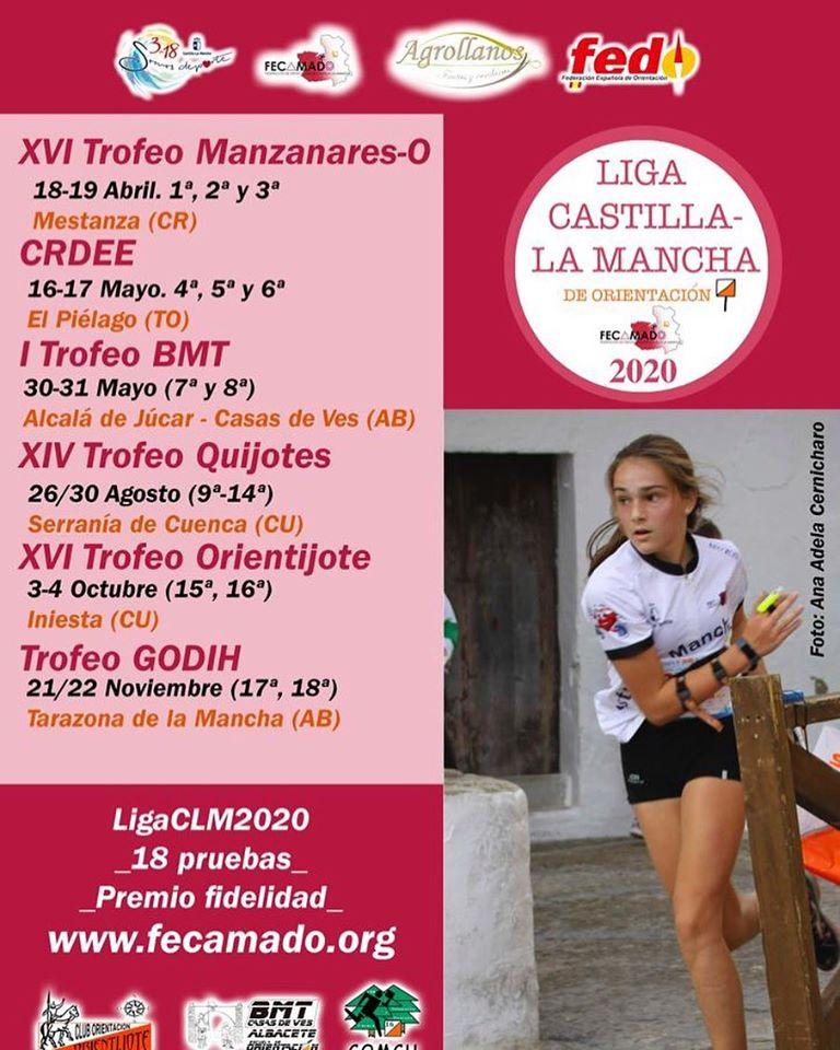 Liga Castilla-La Mancha de Orientación 2020
