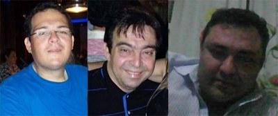 José Aloysio da Costa Machado Júnior, José Aloysio da Costa Machado Neto e Cláudio Roberto Medeiros Silva