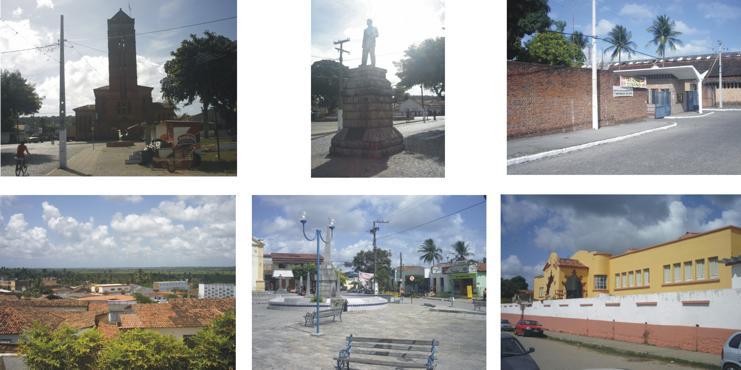 Rio Tinto, Mamanguape e o Campus IV da UFPB (Fotomontagem: UFPB)