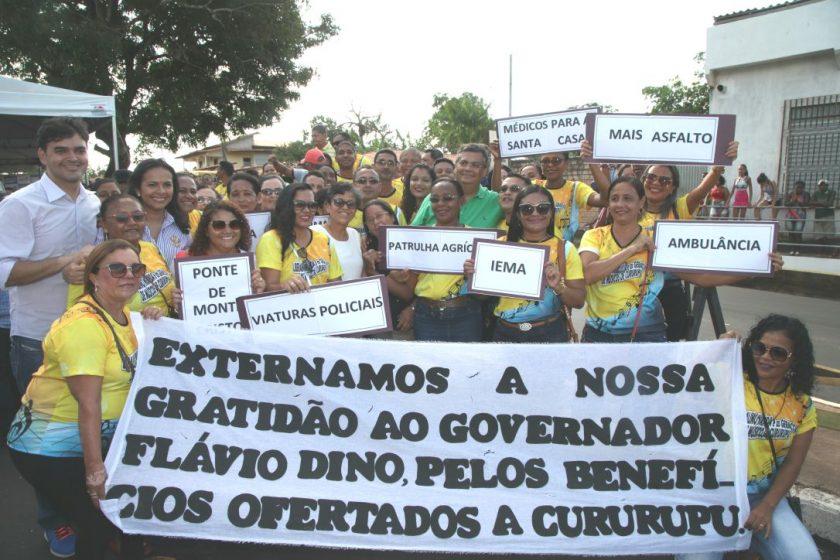 Rubens Júnior acompanha governador Flávio Dino durante entregas em ... b0e383b612eb4