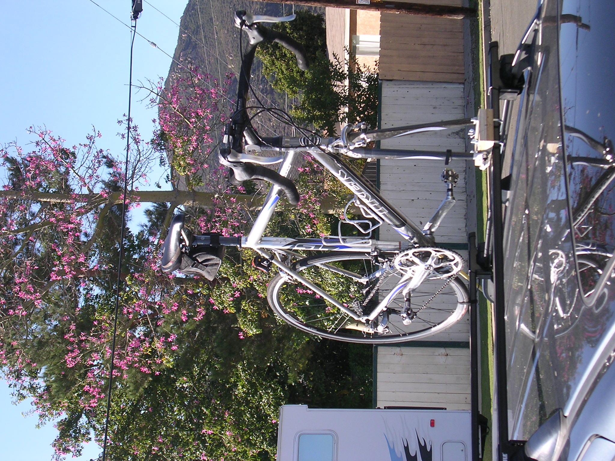 diy fork mount rack bike forums
