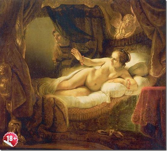 Даная, Рембрандт