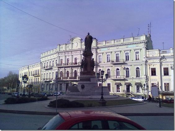 Одесса, памятник Екатерине
