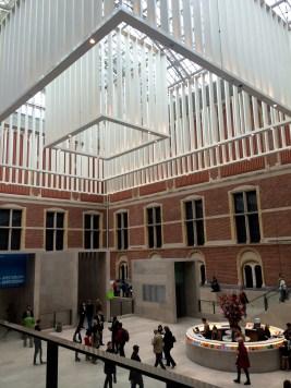 Interior pavilion of the Rijksmuseum.
