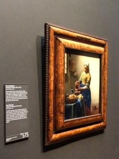 !!! Vermeer's The Milkmaid