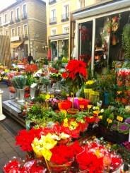 Flower markets in Tirso de Molina