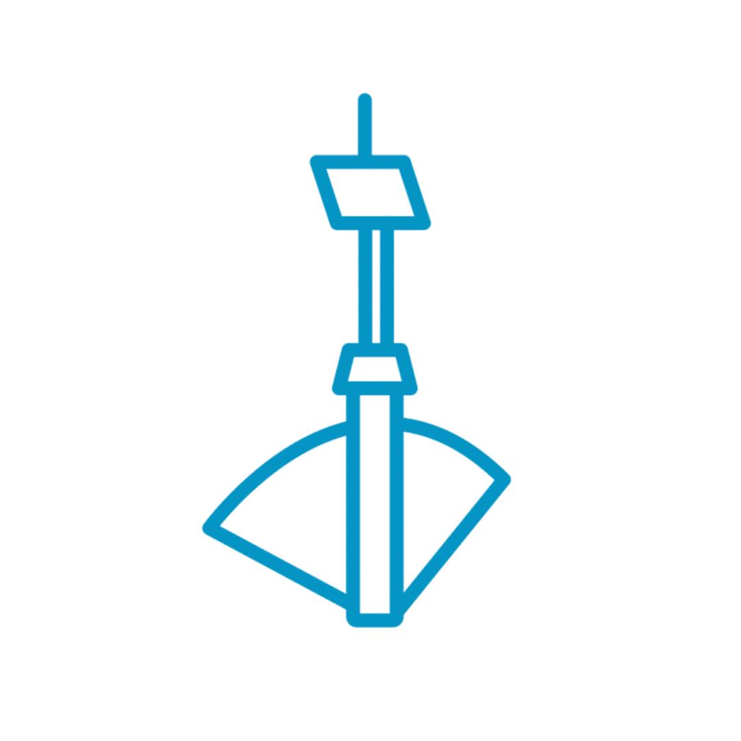 Automated irrigation gate icon