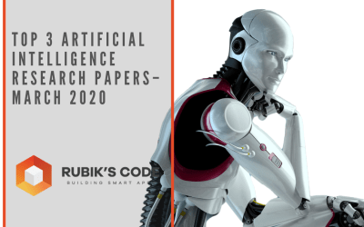 Top 3 Artificial Intelligence Research Papers – March 2020