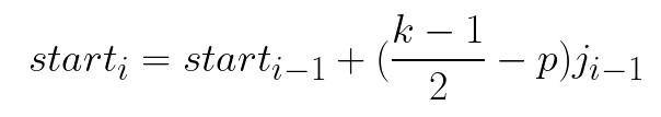 Center Formula