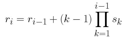 Receptive Field Size General Formula