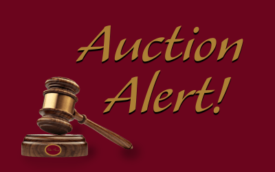 Auction Alert! Don't Miss This Rare Opportunity