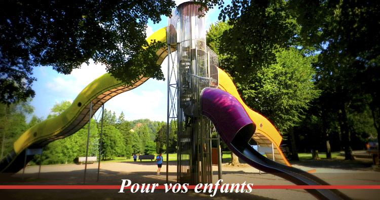 parc fenestre pour vacances à la bourboule puy de domme