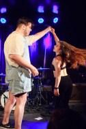 Chloe Slow dancing with a fan