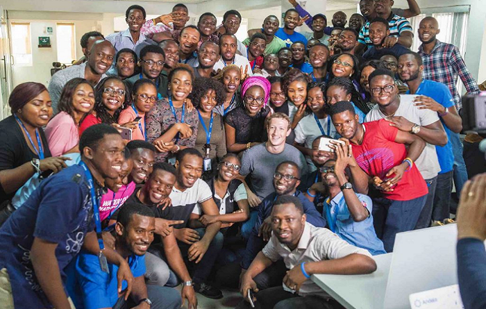 Mark Zuckerberg Visits Andela