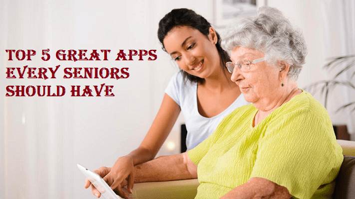 Great Apps for seniors