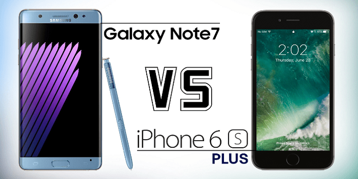iPhone 6S vs Samsung Galaxy Note 7
