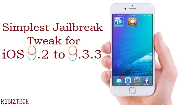 Jailbreak iOS 9.2 to 9.3.3 with Pangu (Chinese version)
