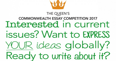 The Queen's Commonwealth Essay Competition 2017