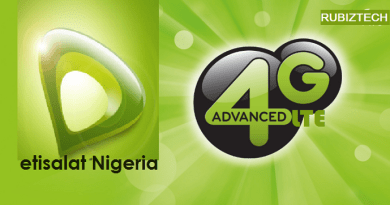 Etisalat 4G LTE Network Gone Live in Lagos