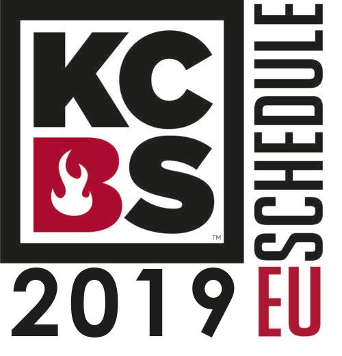 KCBS EU-Schedule 2019
