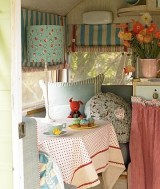 Interior of a really cool and lovable trailer xxx