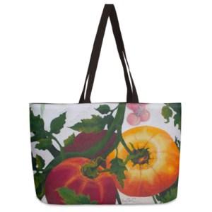 Large Tomato Shopping Tote Bag