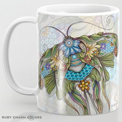 11 oz mug designed by Ruby Charm Colors