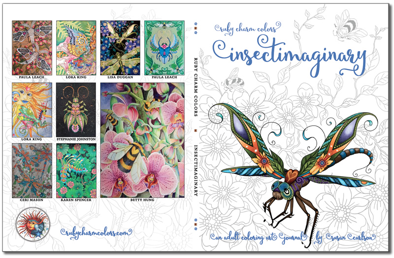 Insectimaginary cover front back