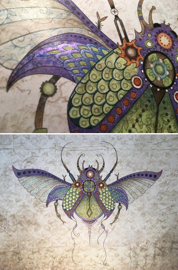 Jewel Beetle 2 RubyCharmColors