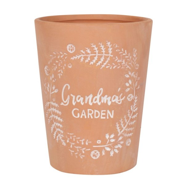Grandmas Garden Terracotta Plant Pot