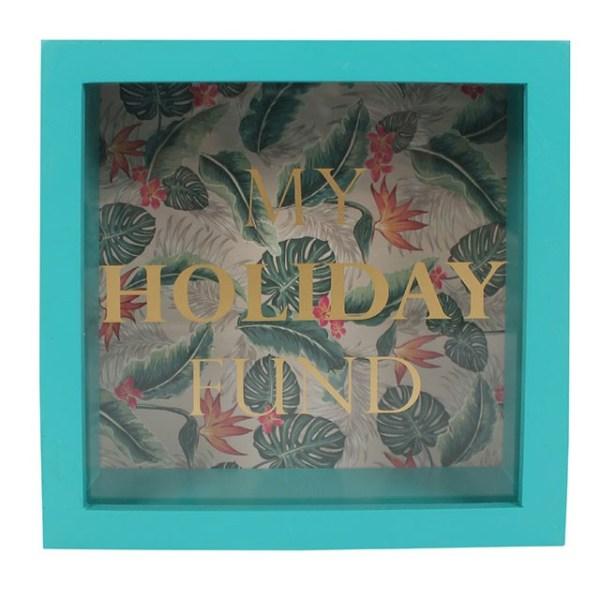Tropical Island Holiday Fund Money Box