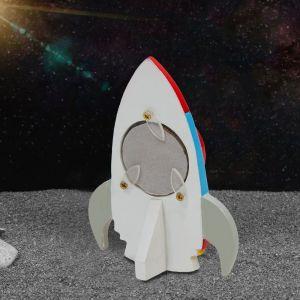 Space Rocket Mini Photo Frame