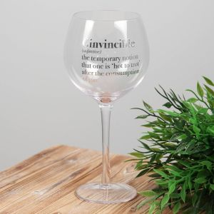 Ginvincible Gin and Tonic Glass