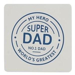 Superhero Dad Coaster