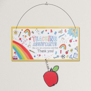 Thank You Teaching Assistant Plaque