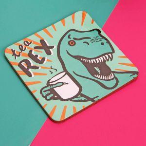 Tea Rex Mug & Coaster Set