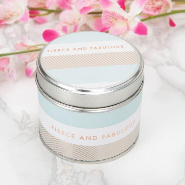 Fierce & Fabulous Deluxe Tin Candle