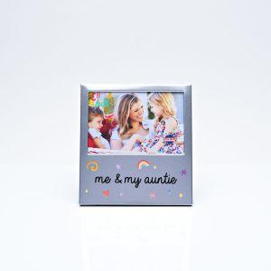 Me & My Auntie Aluminium Photo Frame