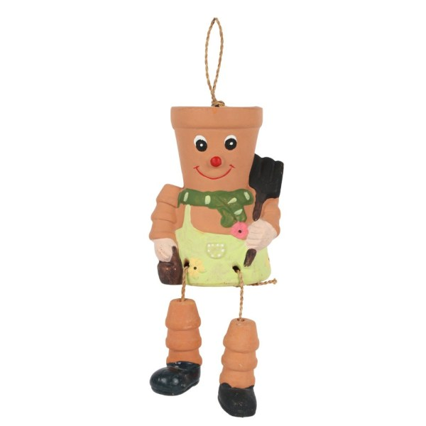 Terracotta Pot Man Planter