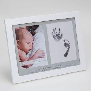 Inkless Hand & Footprint Baby Photo Frame