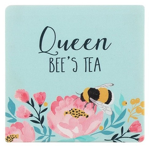 Queen Bees Tea Coaster