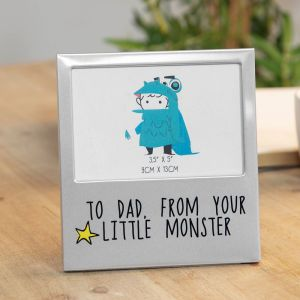 From Your Little Monster Photo Frame
