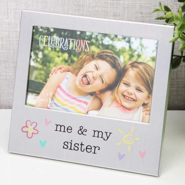 Me and My Sister Photo Frame