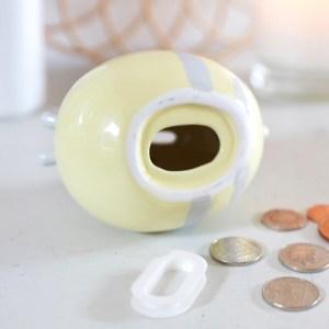 Ceramic Bee Money Box