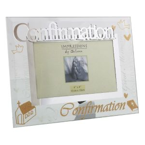 Glass Confirmation Photo Frame
