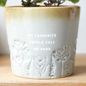 Glazed Ombre Nana Plant Pot