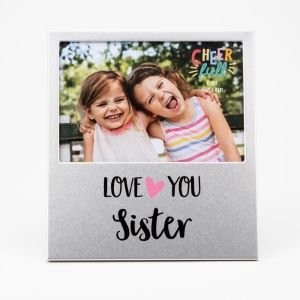 Love You Sister Photo Frame